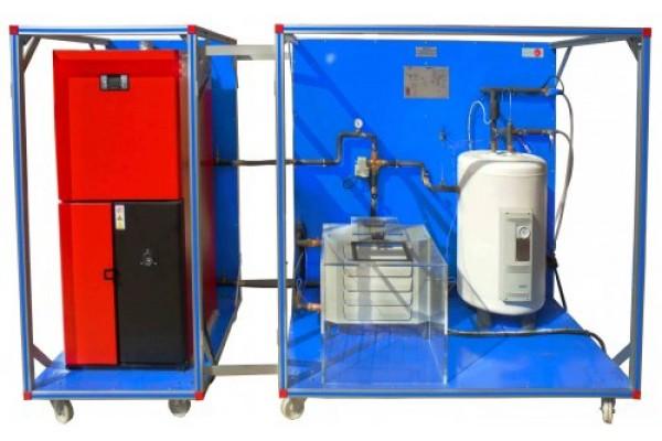 Bancada Didática de processo de biomassa controlada por computador Edibon EBMC/A