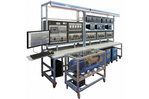 Bancada Didática de sistemas de energia de rede inteligente com SCADA Edibon AEL CPSS-01S