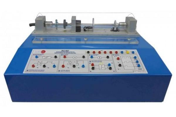 Bancada Didática de teste de tacômetros para PLC Edibon PLC BS7