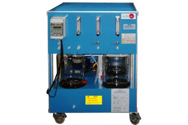 Bancada Didática para Treinamento de Reatores Químicos Controlado por Computador Edibon QRQC