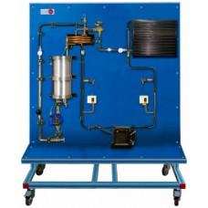 Bancada Didática para estudo de um circuito de refrigeração com carga variável Edibon TRCAC