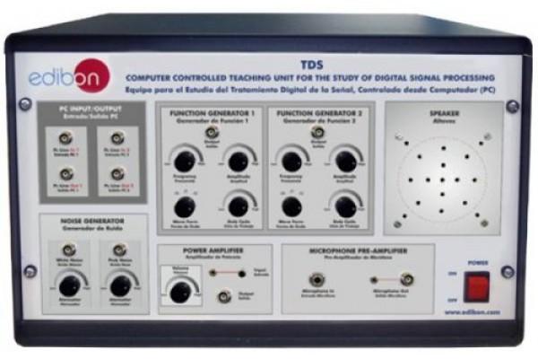 Bancada Didática para o Estudo do Tratamento Digital de Sinal Controlado por Computador Edibon TDS