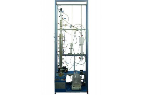 Bancada Didática de Destilação Contínua Controlada por Computador Edibon UDCC
